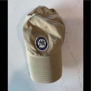 New York Yankees khaki MLB Adjustable hat